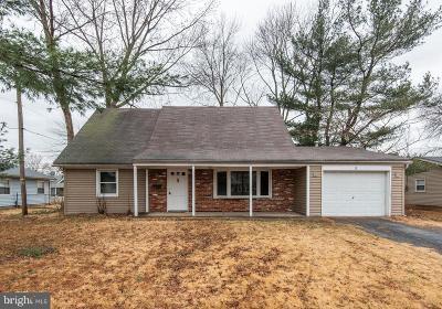 Willingboro NJ Single Family Home For Sale: $179,000
