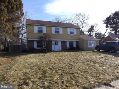 Willingboro NJ Single Family Home For Sale: $189,900