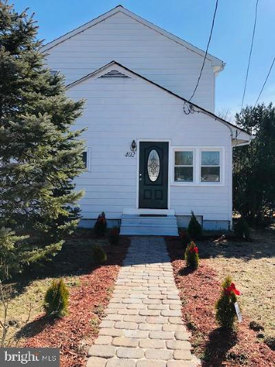 Cinnaminson Single Family Home For Sale: 402 Division Street