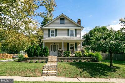 Moorestown Single Family Home For Sale: 401 S Church Street