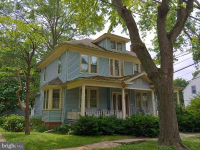 Mount Holly Single Family Home For Sale: 100 Ridgway Street