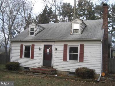 Willingboro NJ Single Family Home For Sale: $69,900