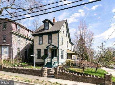 Moorestown Single Family Home For Sale: 129 S Church Street