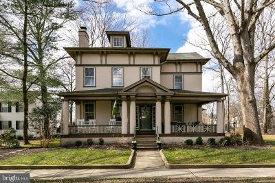 Moorestown Single Family Home For Sale: 139 W Central Avenue