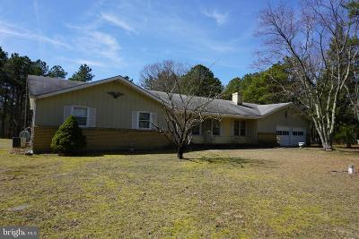 Tabernacle Single Family Home For Sale: 1001 Chatsworth Road