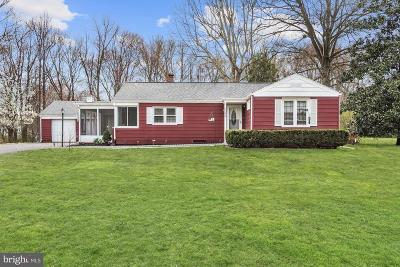 Mount Laurel Single Family Home For Sale: 4404 Church Road