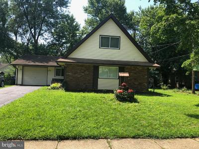 Willingboro Single Family Home For Sale: 10 Ginger Lane