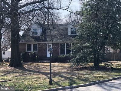 Cinnaminson Single Family Home For Sale: 2301 Church Road