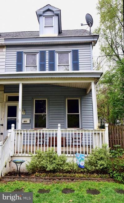 Palmyra Single Family Home For Sale: 801 Cinnaminson Avenue