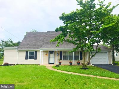 Willingboro NJ Single Family Home For Sale: $229,000