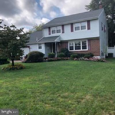 Cinnaminson Single Family Home For Sale: 2505 Church Road