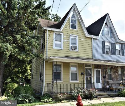 Burlington Single Family Home For Sale: 468 W Broad Street
