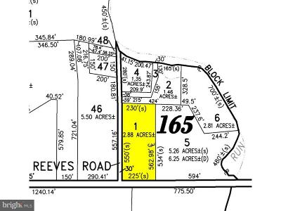 Millville Residential Lots & Land For Sale: 1824 E Buckshutem Road