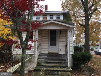 Millville Single Family Home For Sale: 510 W Main Street