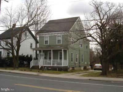 Bridgeton Single Family Home For Sale: 550 E Commerce Street