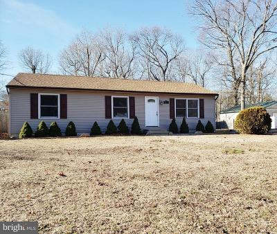 Millville Single Family Home For Sale: 157 Main Drive