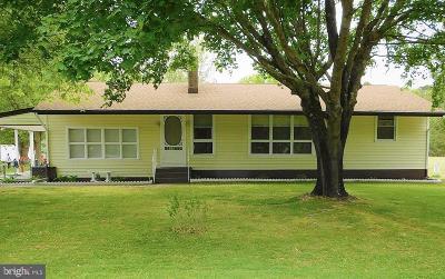Single Family Home For Sale: 77 Leesburg Belleplain Road