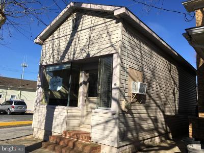 Millville Commercial For Sale: 16 E Vine Street