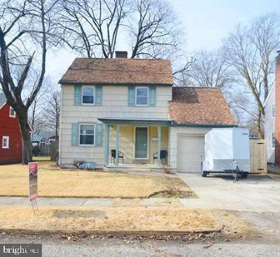 Vineland Single Family Home For Sale: 512 Grandview Avenue