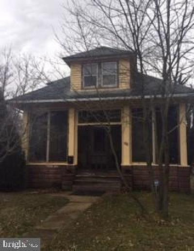 Bridgeton Single Family Home For Sale: 566 South Avenue