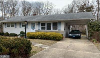 Vineland Single Family Home For Sale: 3124 Daldon Ln