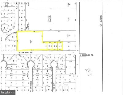 Vineland Residential Lots & Land For Sale: Orchard