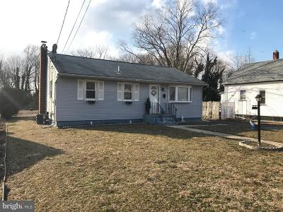 Vineland Single Family Home Under Contract: 532 Amos Avenue