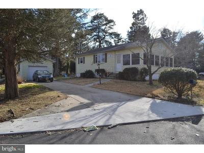 Millville Single Family Home For Sale: 3521 Lakeshore Drive