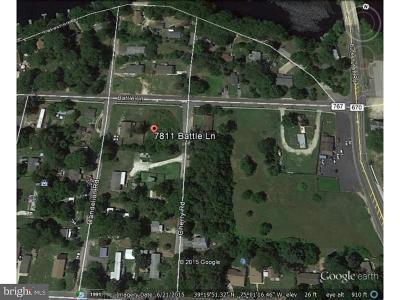 Millville Residential Lots & Land For Sale: 7811 Battle Lane
