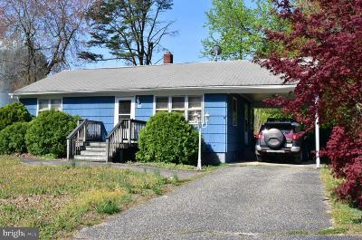 Millville Single Family Home For Sale: 112 Geissinger Avenue