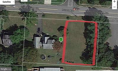 Vineland Residential Lots & Land For Sale: Grant Avenue