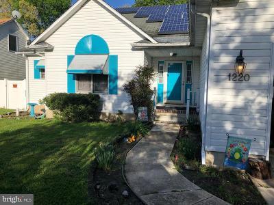 Vineland Single Family Home For Sale: 1220 Ashwood Court