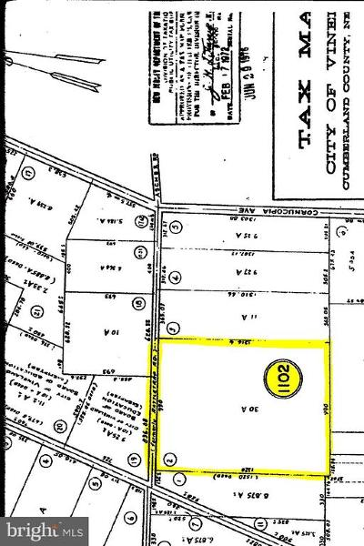 Vineland Residential Lots & Land For Sale: Ascher