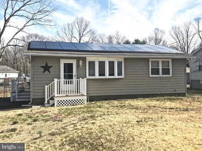 Millville Single Family Home For Sale: 504 W Buckshutem Road