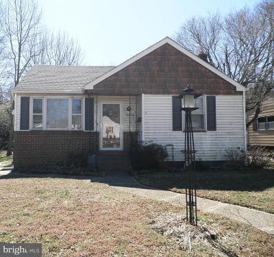 Bridgeton Single Family Home For Sale: 18 Preston Avenue