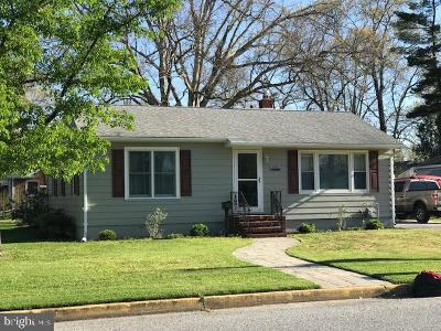Millville Single Family Home For Sale: 1000 Mulberry Street E