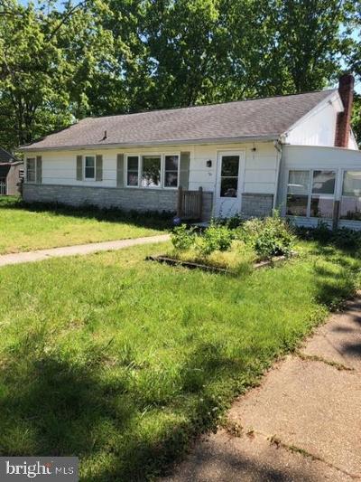 Millville Single Family Home For Sale: 101 Patricia Avenue