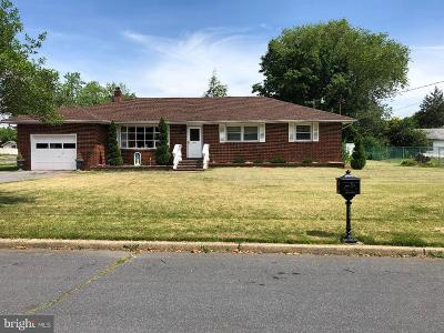 Vineland Single Family Home For Sale: 1286 Chimes Terrace