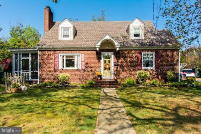 Cumberland County Single Family Home For Sale: 109 Rutgers Avenue