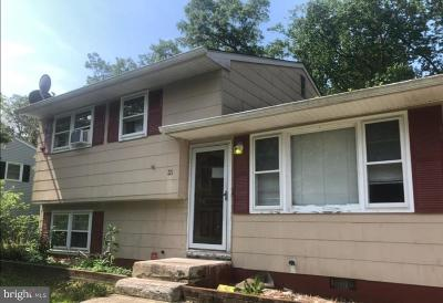 Millville Single Family Home For Sale: 33 Dorset Avenue