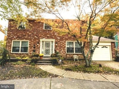 Cherry Hill Single Family Home For Sale: 370 Kresson Road