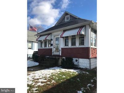 Gloucester City Single Family Home For Sale: 42 Lane Avenue