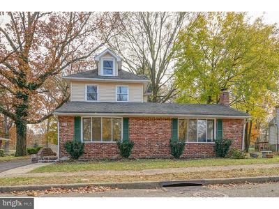 Pennsauken Single Family Home For Sale: 8542 Herbert Avenue