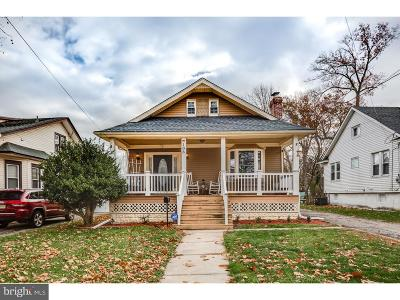 Oaklyn Single Family Home For Sale: 108 E Bettlewood Avenue
