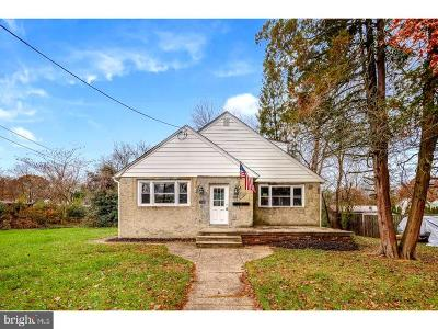 Cherry Hill Single Family Home For Sale: 346 N Lincoln Avenue