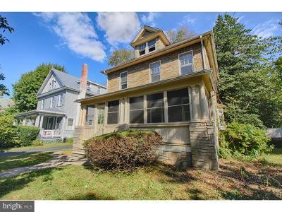 Merchantville Single Family Home For Sale: 21 Franklin Avenue