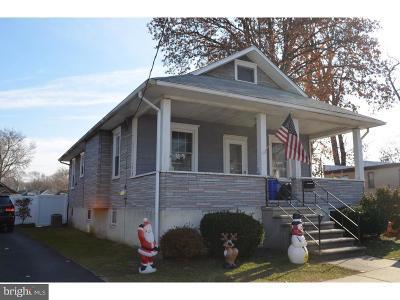 Gloucester City Single Family Home For Sale: 128 Baynes Avenue