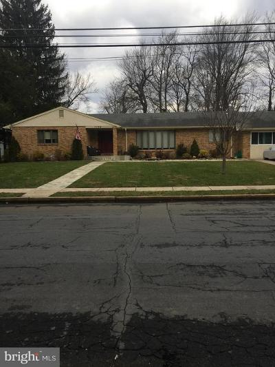 Cherry Hill Single Family Home For Sale: 1106 Hollis