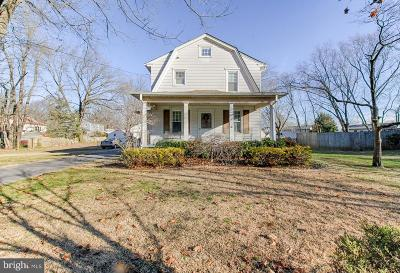 Cherry Hill Single Family Home For Sale: 1720 Burnt Mill