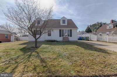 Cherry Hill Single Family Home For Sale: 907 Pennsylvania